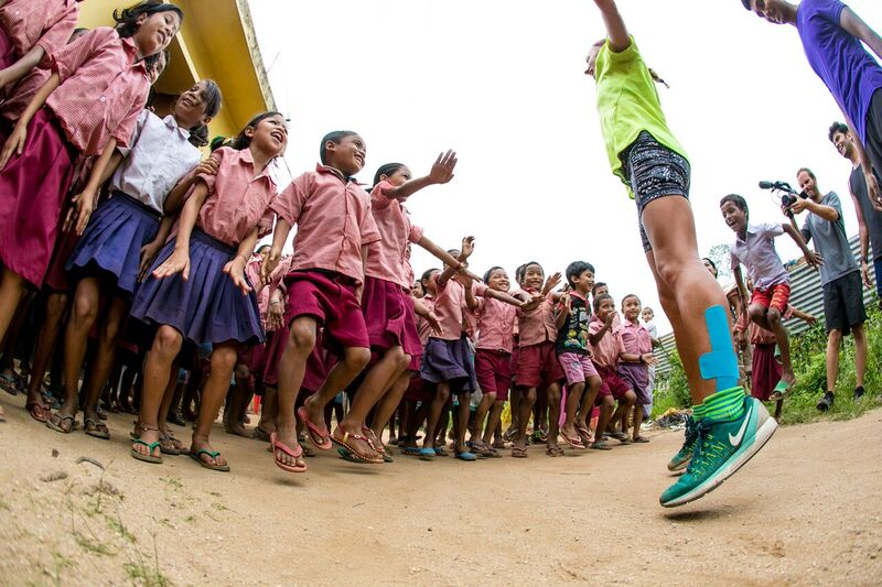 Interview with RockStar and Ultra Marathon runner, who has just run 3,200km in India to raise money for World Vision
