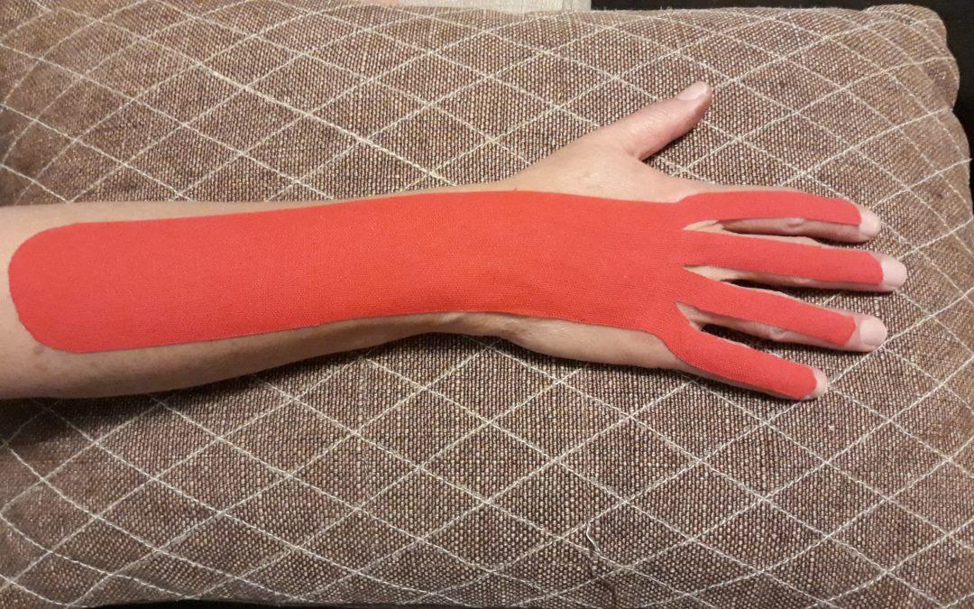 Hand taping