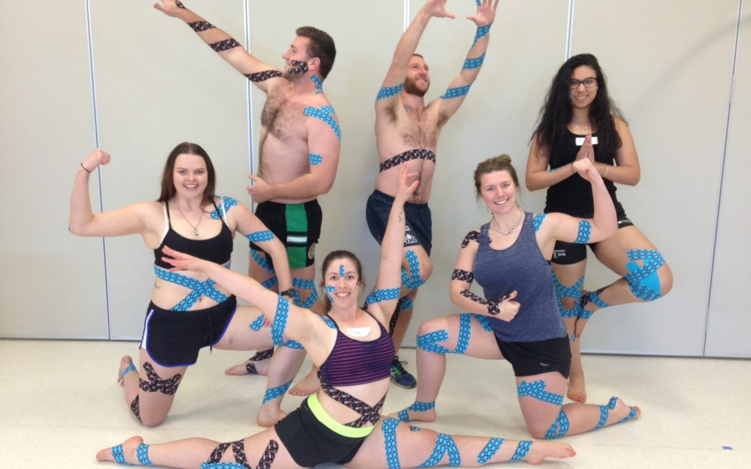RockTape kinesiology taping courses